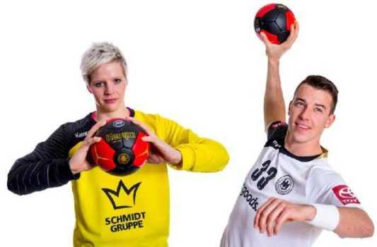 Handball WM: Clara Woltering und Dominik Klein - Foto: DHB/Sascha Klahn
