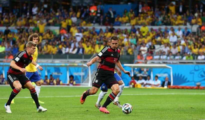 Fußball FIFA WM 2014: Deutschland ist schon Vizeweltmeister! Brasilien kontrolliert, filetiert und 7:1 deklassiert 11