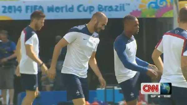 CNN: Vor dem Duell Deutschland gegen Frankreich im WM-Viertelfinale – Exklusiv - Frankreich -  Foto: CNN International