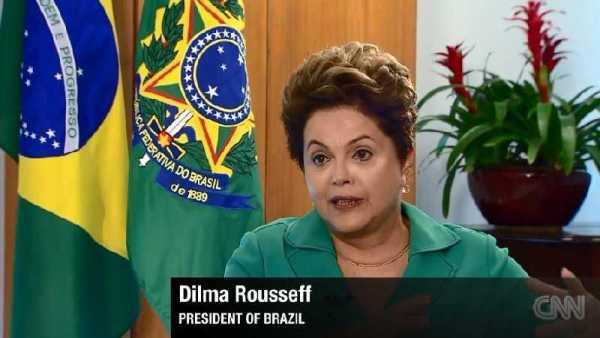 CNN International: Brasiliens Präsidentin Dilma Rousseff im Exklusiv-Interview - Foto: CNN International