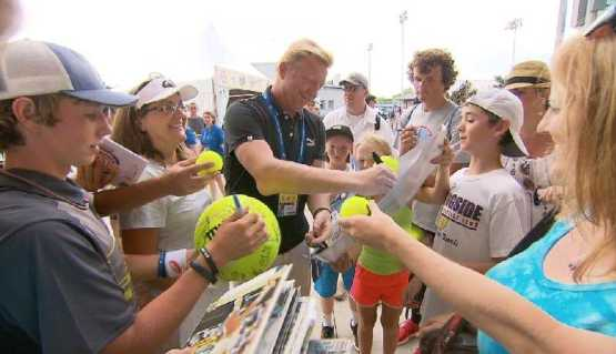 "CNN ""Open Court"": Vorschau US Open mit Boris Becker und Billie Jean King - Foto: CNN International ""Open Court"""
