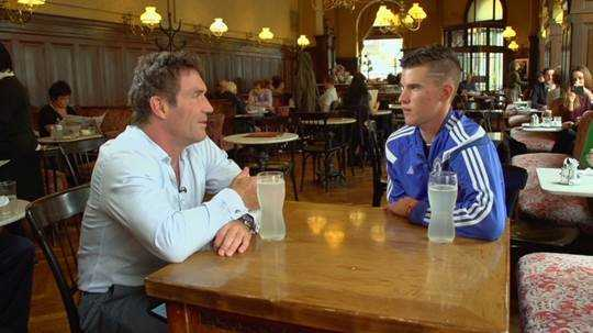 "CNN ""Open Court"": Pat Cash spricht mit Dominic Thiem - Quelle: CNN International ""Open Court"""