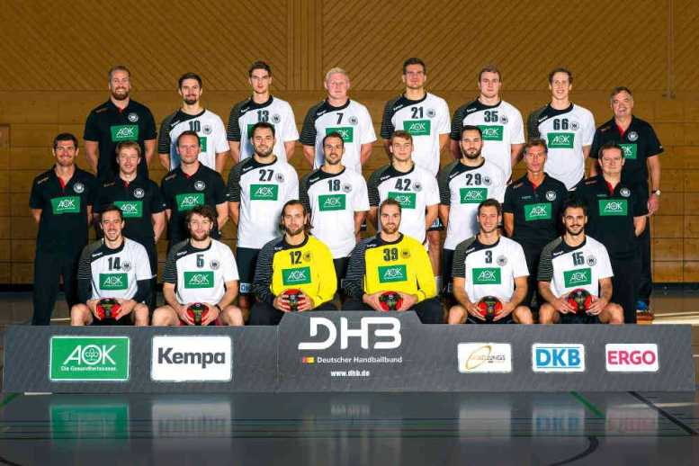 Handball-WM: DHB-Männer-Nationalmannschaft - Foto: DHB/Sascha Klahn