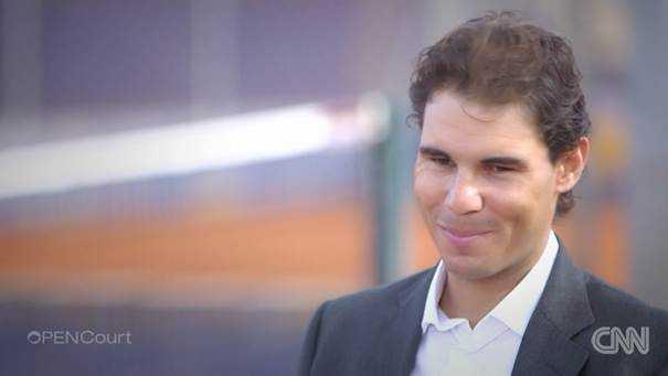 "CNN Open Court: Roger Federer, Rafael Nadal und Andy Roddick im Jahresrückblick - Rafael Nadal - Foto: CNN International ""Open Court"""