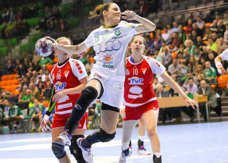 Handball Ungarn: Győri Audi ETO KC überlegen gegen Debrecen - Macarena Aguilar - Foto: Anikó Kovács und Tamás Csonka (Győri Audi ETO KC)