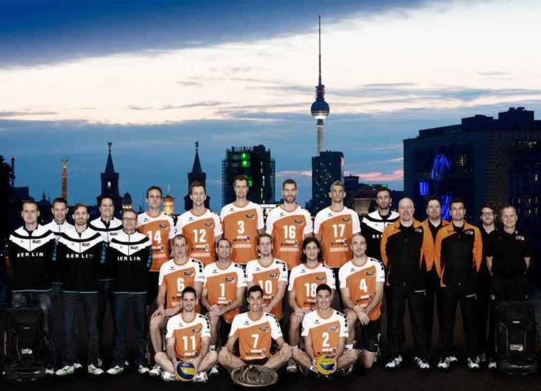 BR Volleys - Teamfoto 2014/2015 - Foto: http://www.volleyball-bundesliga.de