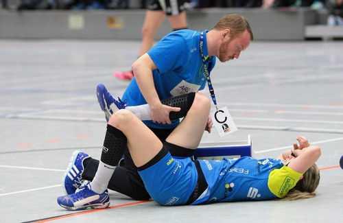 HC Leipzig: Saison für Saskia Lang beendet - Foto: Sebastian Brauner