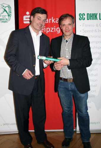 SC DHfK: Robert Clement und Christoph Hansel - Foto: Matthias Geckert