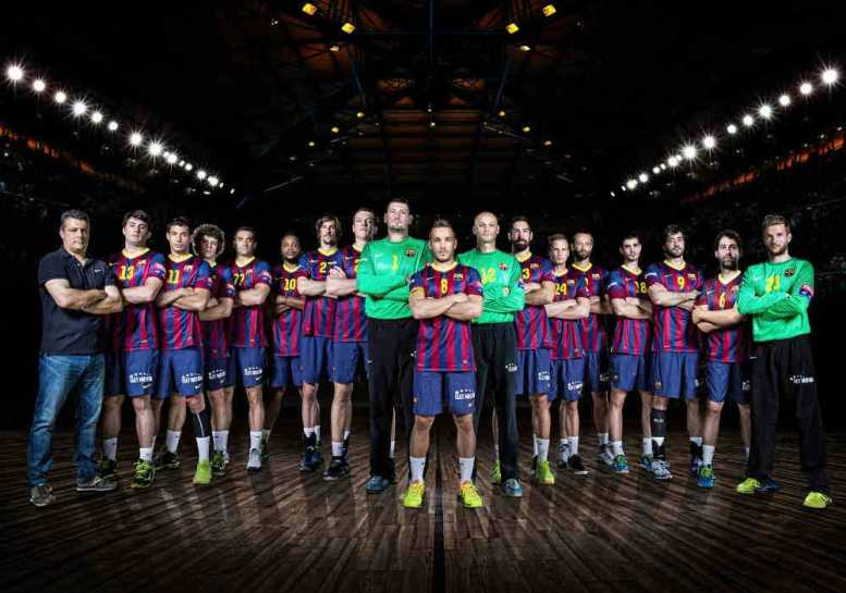 FC Barcelona - VELUX EHF Champions League FINAL4 2014 photo shoot - 07.05.2014 - Foto: Kernmayer Photography