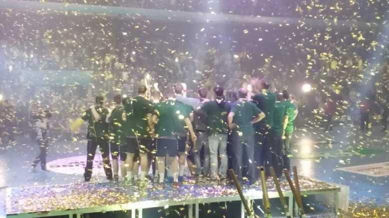 EHF-Cup Final4: Füchse Berlin Europa-Champion nach Sieg über HSV Handball - Foto: SPORT4Final