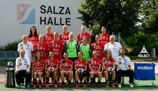 Team Thüringer HC 2015/2016 - Foto: Thüringer HC