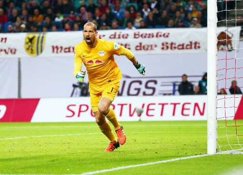 RasenBallsport Leipzig vs. Fortuna Duesseldorf - Fabio Coltorti (RB Leipzig) - Foto: GEPA pictures/Kerstin Kummer