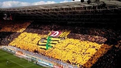 Fanblock Dynamo Dresden - Foto: SPORT4Final