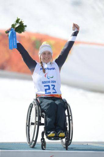 Anna Schaffelhuber ist Weltbehindertensportlerin - Foto: Allianz, Ralf Kuckuck
