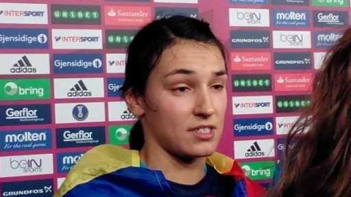 Handball WM 2015: Rumänien zerstört mit Klasseleistung Dänemarks Titel-Traum - Cristina Neagu - Foto: SPORT4Final