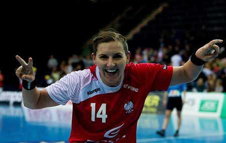 Handball WM 2015 Dänemark: Karolina Kudlacz-Gloc (aus Deutschalnd vs. Polen) - Foto: Sebastian Brauner