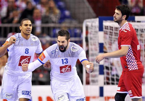 Handball EM 2016: Frankreich deklassierte Kroatien - Foto: ZPRP / EHF