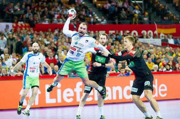 Handball EM 2016 Gruppe C: Deutschland in Hauptrunde nach souveränem Sieg gegen Slowenien - Foto: ZPRP / EHF