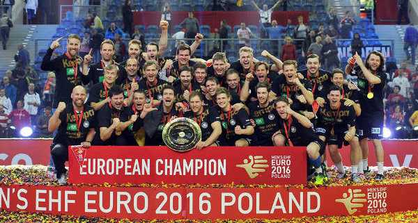 Jahresrückblick 2016 - Handball EM 2016 Finale: Deutschland begeisternder Europameister. Spanien deklassiert. Ein Wintermärchen! - Foto: ZPRP / EHF