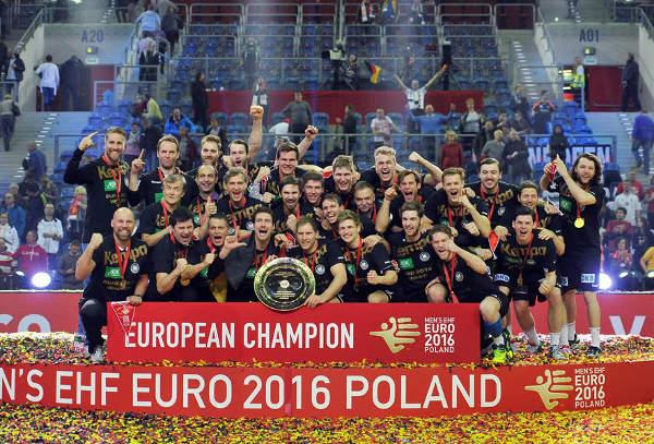 Handball EM 2016 Finale: Deutschland begeisternder Europameister. Spanien deklassiert. Ein Wintermärchen! - Foto: ZPRP / EHF