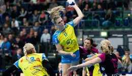 HC Leipzig gewann bei HSG Blomberg-Lippe. Anne Hubinger mit 4-Tore-Comeback