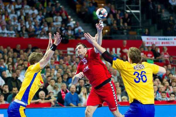 Handball EM 2016 Hauptrunde: Schweden und Russland mit Remis - Foto: ZPRP / EHF