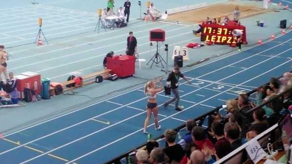 Leichtathletik: Deutsche Hallen-Meisterschaften - Ein Hauch von Olympia in Leipzig - Cindy Roleder - Foto: SPORT4Final