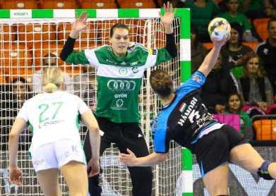 Győri Audi ETO KC bezwingt Vac im Pokal-Viertelfinale - Eva Kiss - Foto: Anikó Kovács und Tamás Csonka (Győri Audi ETO KC)