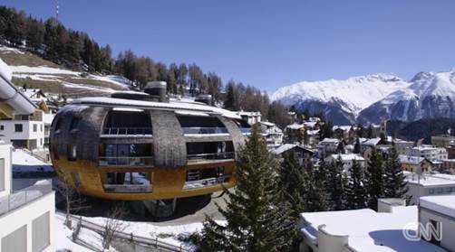 Beeindruckende Architektur in St. Moritz - Foto: CNN International Alpine