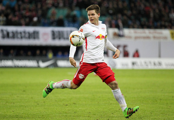 Deutsche Bundesliga, RasenBallsport Leipzig vs. 1. FC Heidenheim - Dominik Kaiser (RB Leipzig) - Foto: GEPA pictures/Roger Petzsche