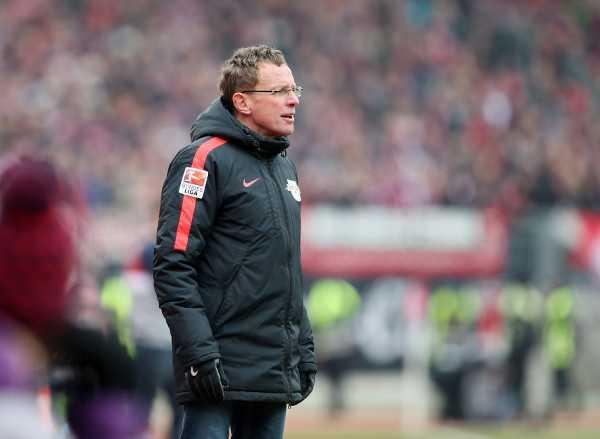 Deutsche Bundesliga, 1. FC Nürnberg vs. RasenBallsport Leipzig - Ralf Rangnick (RB Leipzig) - Foto: GEPA pictures/Roger Petzsche