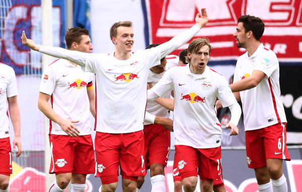 Deutsche Bundesliga, RasenBallsport Leipzig vs. TSV 1860 Muenchen - Lukas Klostermann (RB Leipzig) - Foto: GEPA pictures/Kerstin Kummer