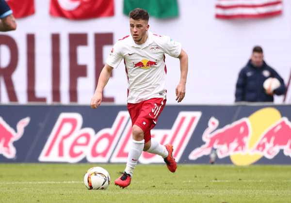 Deutsche Bundesliga, RasenBallsport Leipzig vs. TSV 1860 Muenchen - Diego Demme (RB Leipzig) - Foto: GEPA pictures/Kerstin Kummer