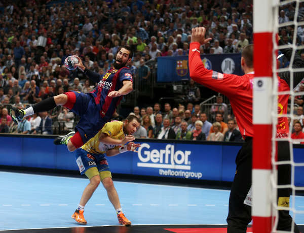Handball Velux EHF Final4 Champions League 2015 May 30th Cologne/Germany Semi-Final FC Barcelona vs KS Vive Tauron Kielce Photo: Joern Pollex/EHF Media