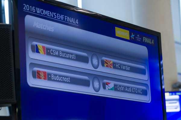 Handball EHF Champions League Final4 2016: Halbfinale - Foto: EHF Media