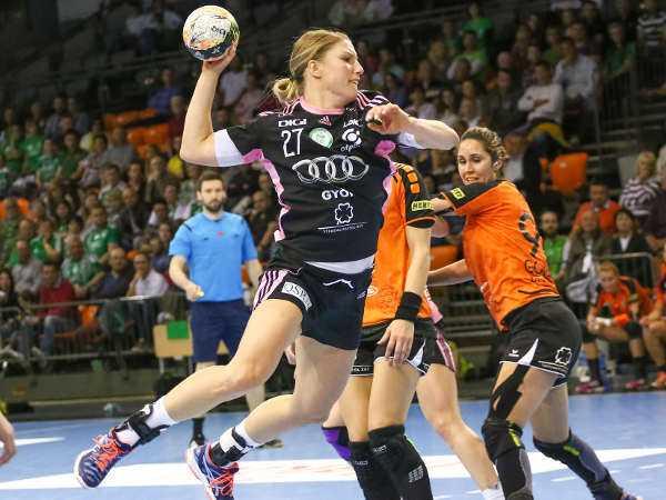 Győri Audi ETO KC mit Kantersieg gegen Erd im Halbfinale - Cornelia Nycke Groot - Foto: Anikó Kovács und Tamás Csonka (Győri Audi ETO KC)