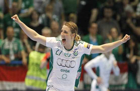 Handball Champions League: Györi Audi ETO KC bei FTC Rail-Cargo Hungaria Budapest - Cornelia Nycke Groot - Foto: Györi Audi ETO KC - Aniko Kovacs