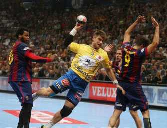 Julen Aguinagalde - Handball Velux EHF Final4 Champions League 2015 May 30th Cologne/Germany Semi-Final - FC Barcelona vs. KS Vive Tauron Kielce - Foto: Joern Pollex/EHF