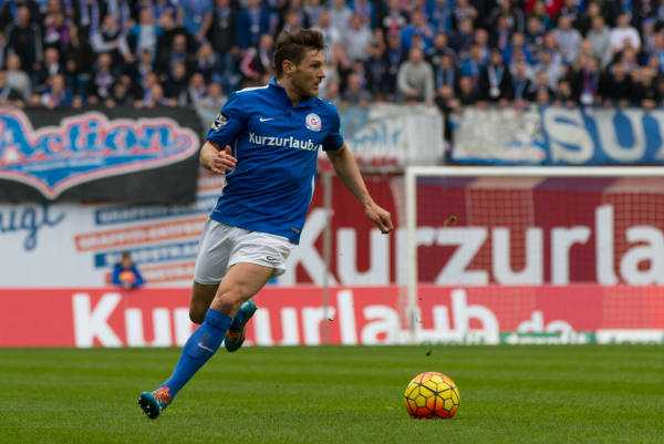 Michael Gardawski auch in der Saison 2016/2017 für den FC Hansa Rostock im Einsatz - Foto: F.C. Hansa Rostock / Sebastian Ahrens