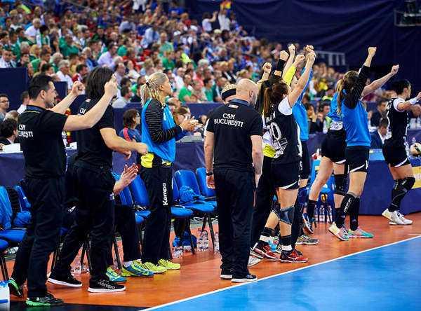 Handball Champions League: Titelverteidiger CSM Bukarest mit guter Ausgangsposition 89