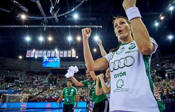 Anita Görbicz - WOMEN`S Handball EHF Champions League 2015/16 Final 4 - Buducnost Podgorica vs Györi Audi ETO KC - Papp László Sportaréna, Budapest, Hungaria - © 2016 EHF / Marcel Lämmerhirt