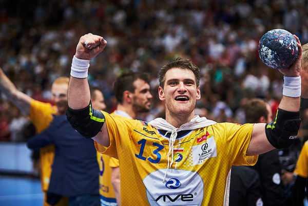 Handball VELUX EHF FINAL4 2016 Final: KS Vive Tauron Kielce vs. MVM Veszprem - Julen Aguinagalde - © 2016 EHF / Axel Heimken LANXESS Arena, Cologne, Germany