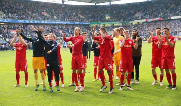 Deutsche Bundesliga, MSV Duisburg vs. RasenBallsport Leipzig - RB Leipzig - Foto: GEPA pictures/Roger Petzsche