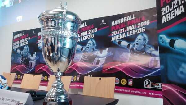 DHB-Pokal Final4: Highlight im Frauen-Handball 2016 - Der Pokal - Foto: SPORT4FINAL