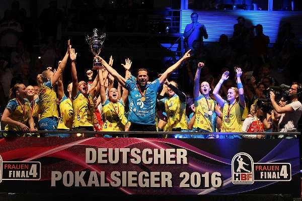 DHB-Pokal Final4 im Jahr 2016: HC Leipzig - Foto: Sebastian Brauner