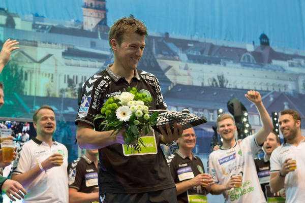 "Christian Prokop (SC DHfK Leipzig) bei SPORT4FINAL: ""Ziel Klassenerhalt und Leipzigs phänomenaler Sport"" - Foto: Karsten Mann"