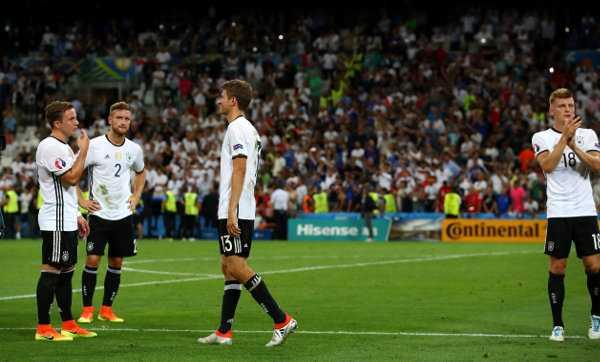 Deutschland – Fussball EM 2016: UEFA EURO Halbfinalspiel zwischen Deutschland und Frankreich im Stade Velodrome am 7. Juli 2016 in Marseille, Frankreich. Foto: Alexander Hassenstein / Getty Images