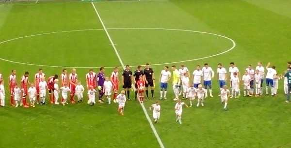 FC Hansa Rostock im DFB-Pokal Fortuna Düsseldorf ohne Matchzugriff unterlegen - Foto: SPORT4FINAL