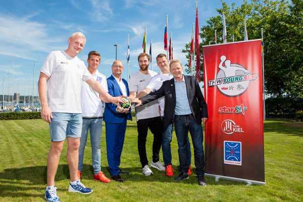 THW Kiel, star und Handball-Camp mit Förderprojekt THW-YOUNGstar - Foto: THW Kiel