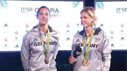 Olympia Rio 2016: Laura Ludwig und Kira Walkenhorst im Video-Interview - Foto: VICONPILOT / Schmidt Media